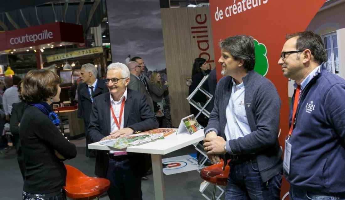 Daniel Moquet à Franchise expo Paris